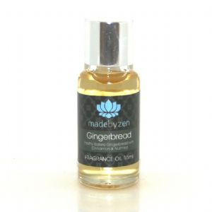 GINGERBREAD Cinnamon Nutmeg - Signature Scented Fragrance Oil Made By Zen 15ml